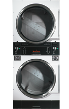 Micro Display Control 45 lb Stack Tumble Dryer