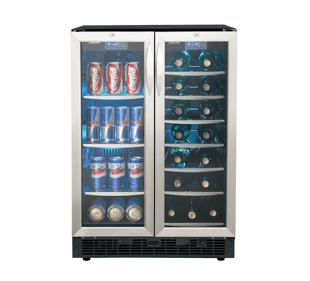 "Danby Silhouette EMMENTAL 24"" FRENCH DOOR BEVERAGE CENTER."