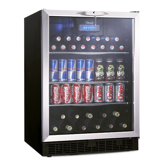 "Danby Silhouette RICOTTA 24"" SINGLE ZONE BEVERAGE CENTER."