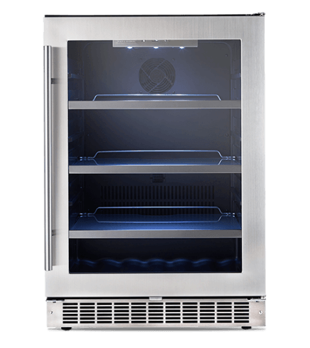 "Danby Silhouette SAXONY 24"" SINGLE ZONE BEVERAGE CENTRE."