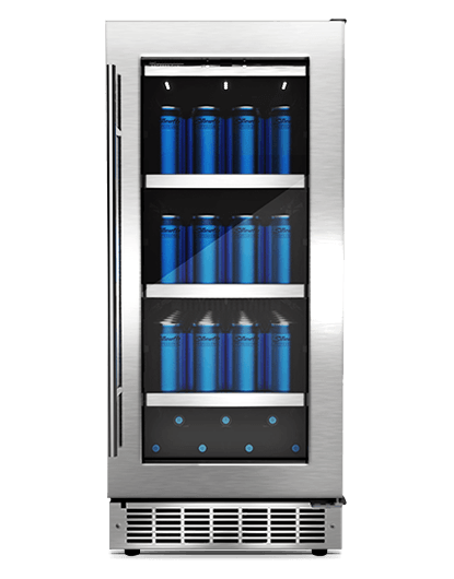 "Danby Silhouette PIEDMONT 15"" SINGLE ZONE BEVERAGE CENTER."