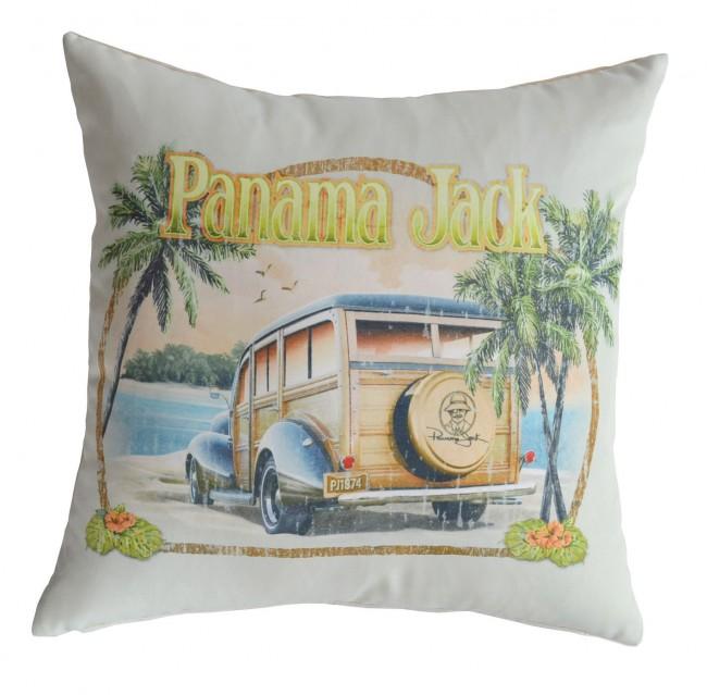 Pelican Reef - Panama Jack No Problems Throw Pillow