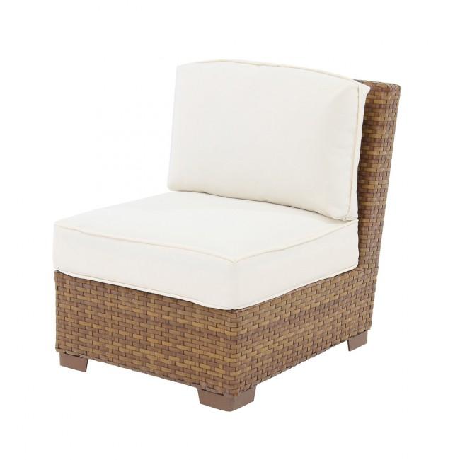 St Barths Modular Armless Chair w/cushion