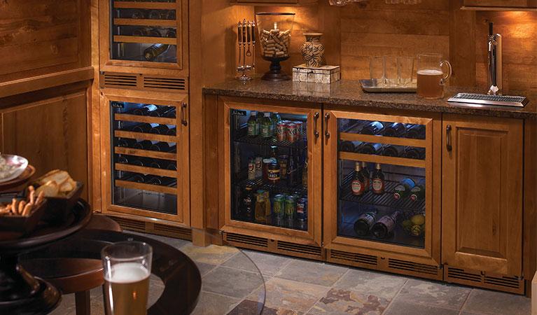 """Model: 67115-24   Perlick WOOD FRONTS FOR WINE SHELVES,(24"""" models)"""