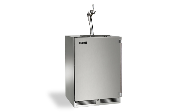 "Perlick 24"" SIGNATURE SERIES ADARA BEER DISPENSER 2 FAUCET"