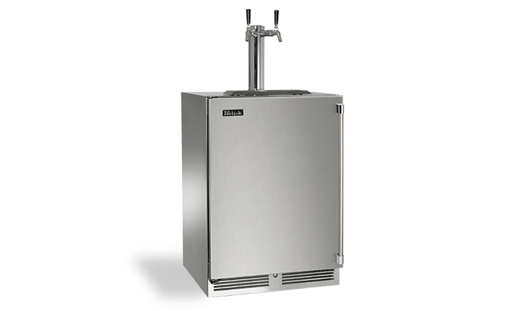 "Perlick 24"" SIGNATURE SERIES OUTDOOR BEER DISPENSER"