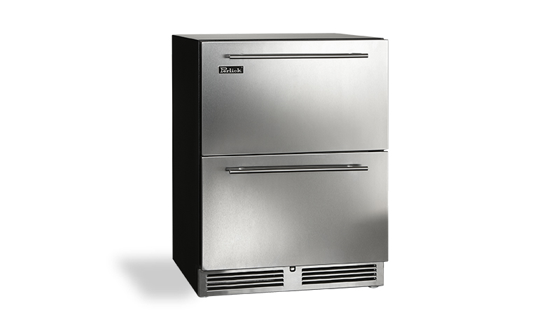 "Model: HA24FB-3-5 | Perlick 24"" ADA-COMPLIANT INDOOR FREEZER DRAWERS"