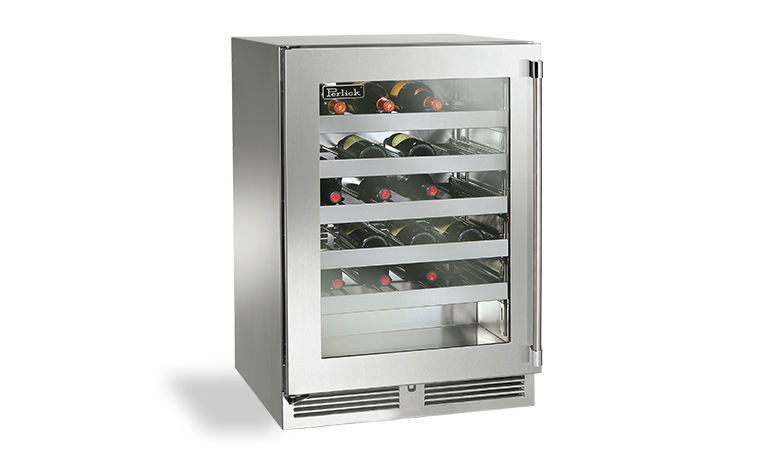 "Model: HP24WO-3 | Perlick 24"" SIGNATURE SERIES OUTDOOR WINE RESERVE"