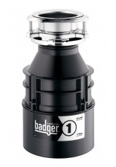 Badger 1 Garbage Disposal 1/3 HP