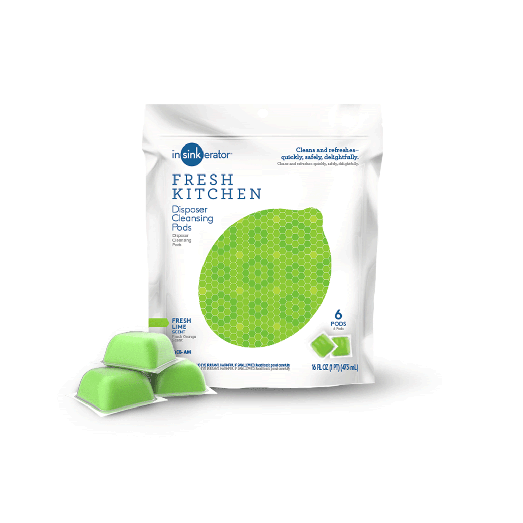 Disposer Cleansing Pods-Lime