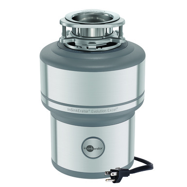 InSinkerator Evolution Excel Garbage Disposal with cord
