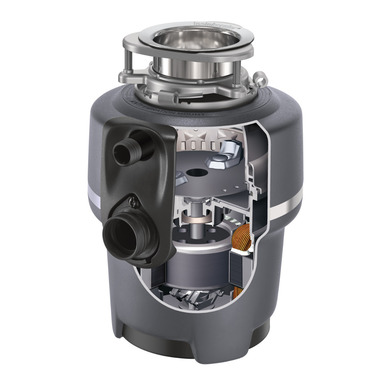 Evolution Compact Garbage Disposal with Cord 3/4 HP