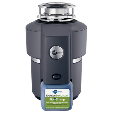 InSinkerator Evolution Septic Assist without Cord Garbage Disposal