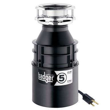InSinkerator Badger 5 Garbage Disposal With Cord