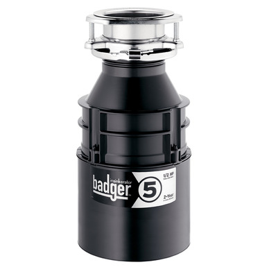 InSinkerator Badger 5 Garbage Disposal Without Cord