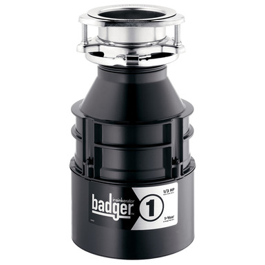 InSinkerator Badger 1 Garbage Disposal Without Cord