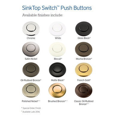 Model: 73274M | InSinkerator SinkTop Switch Button