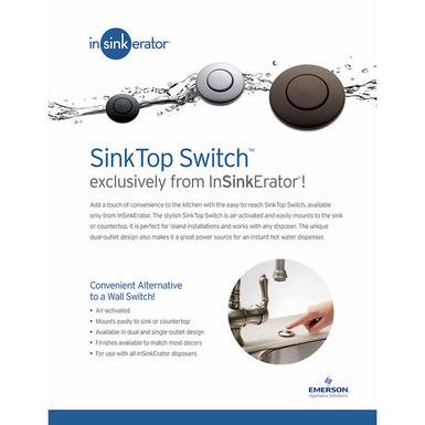 Model: 73274 | InSinkerator SinkTop Switch Button