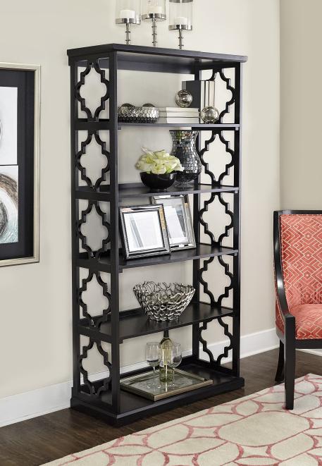 Powell Furniture  Turner Bookcase Black