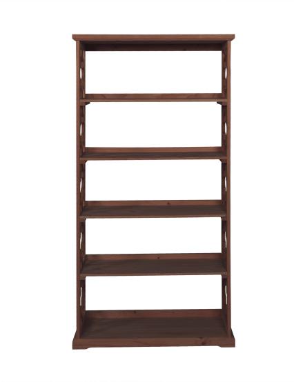 Powell Furniture Turner Bookcase Espresso
