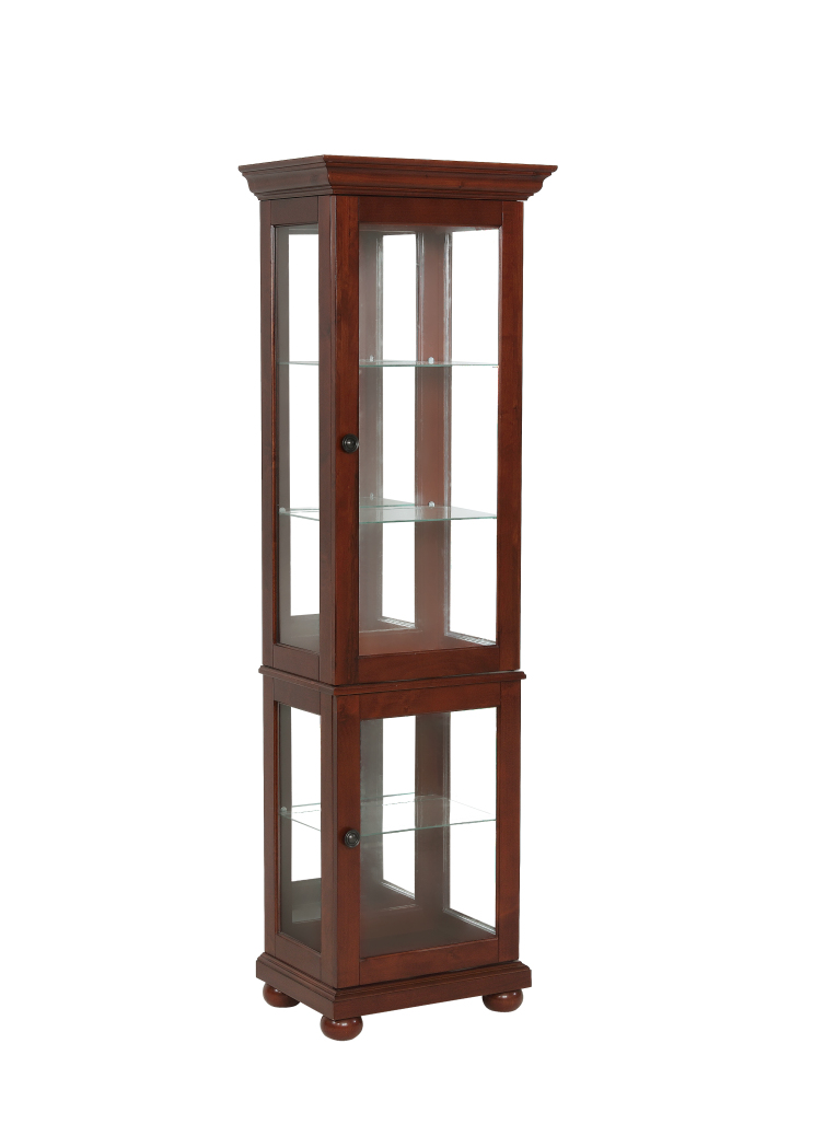 Powell Furniture Chadwick Small Curio-ships in 2 cartons