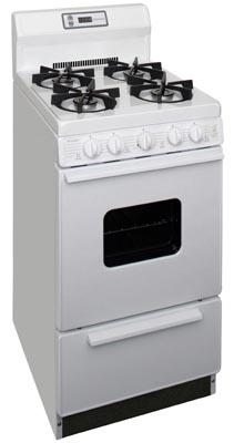 Premier 20 Inch Sealed Burner Electronic Spark Gas Range