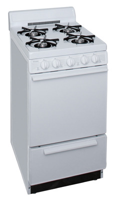 20 Inch Electronic Spark Gas Range