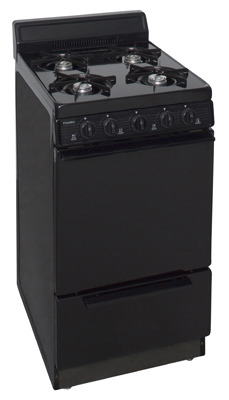 Model: BAK100BP | Premier 20 Inch Cordless Gas Range