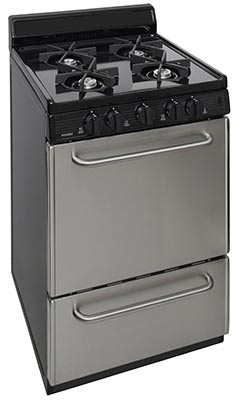 24 Inch Electronic Spark Sealed Burner Gas Range