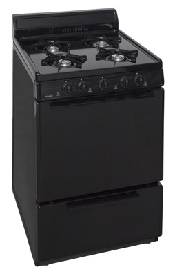 Model: BCK100BP | Premier 24 Inch Cordless Gas Range