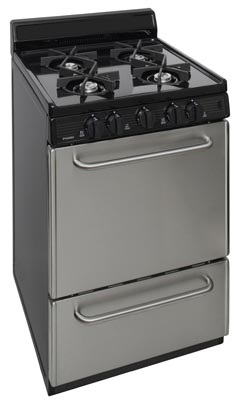 24 Inch Electronic Spark Gas Range