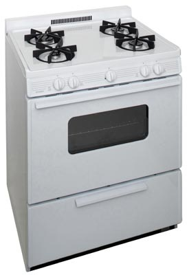 Premier 30 Inch Cordless Sealed Burner Gas Range
