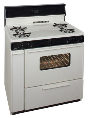 Premier 36 Inch Electronic Spark Gas Range
