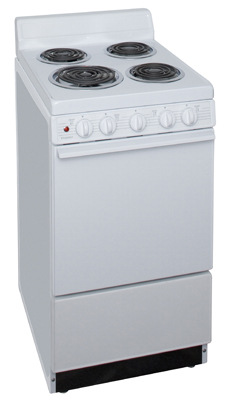 Model: EAK102OP | 20 Inch Electric Range