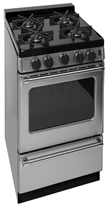Premier 20 Inch Sealed Burner Electronic Spark Gas Range