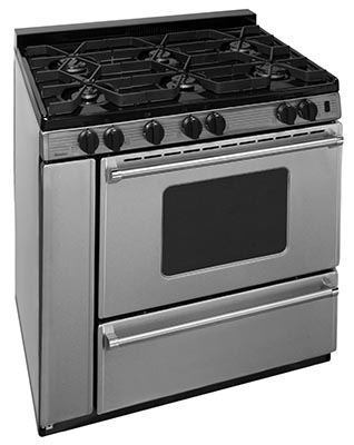 Premier 36 Inch Sealed Burner Electronic Spark Gas Range
