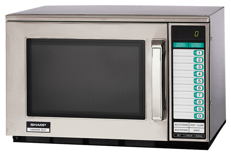 Model: R-25JTF | HEAVY DUTY COMMERCIAL MICROWAVE WITH 2100 WATTS