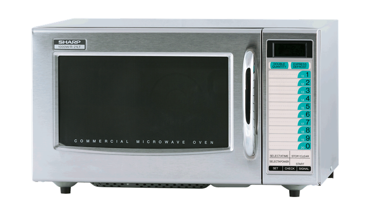 MEDIUM-DUTY COMMERCIAL MICROWAVE WITH 1000 WATTS