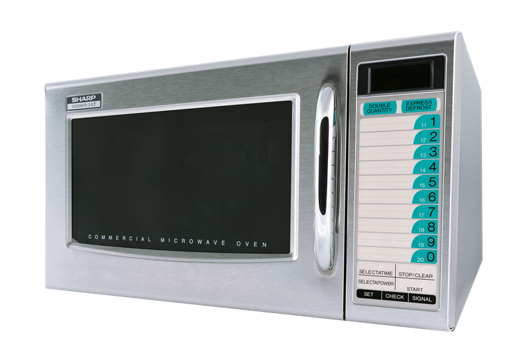 Model: R-21LTF | Sharp Appliances MEDIUM-DUTY COMMERCIAL MICROWAVE WITH 1000 WATTS