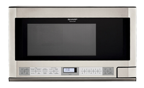 Sharp Appliances  OVER-THE-COUNTER 1.5 CU.FT., 1100W SENSOR (Not for use over range)