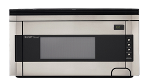Model: R-1514 | Sharp Appliances OVER-THE-RANGE 1.5 CU.FT., 1000 W SENSOR