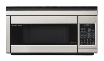 Model: R-1874 | Sharp Appliances CONVECTION 1.1 CU.FT. OVER-THE-RANGE WITH 850W