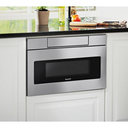 1.2 cu. ft. 24 in. Microwave Drawer with Concealed Controls
