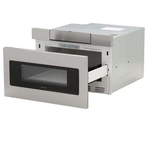 Model: SMD2470ASY | Sharp Appliances 1.2 cu. ft. 24 in. Microwave Drawer with Concealed Controls