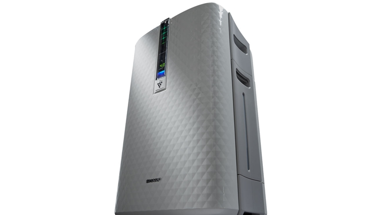PLASMACLUSTER AIR PURIFIER WITH HUMIDIFYING FUNCTION