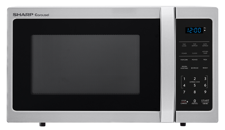 Sharp Appliances 0.9 CU. FT.  SHARP  CAROUSEL COUNTERTOP MICROWAVE