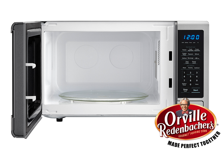 Model: SMC1132CS | Sharp Appliances 1.1 CU. FT. 1000W SHARP STAINLESS STEEL CAROUSEL COUNTERTOP MICROWAVE OVEN