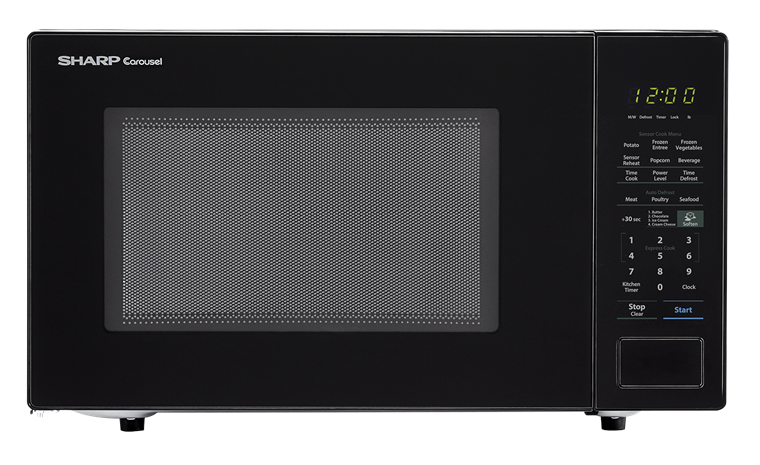 Model: SMC1441CB | SHARP CAROUSEL COUNTERTOP MICROWAVE OVEN 1.4 CU. FT. 1000W BLACK
