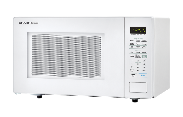 Model: SMC1441CW | Sharp Appliances SHARP CAROUSEL COUNTERTOP MICROWAVE OVEN 1.4 CU. FT. 1000W WHITE