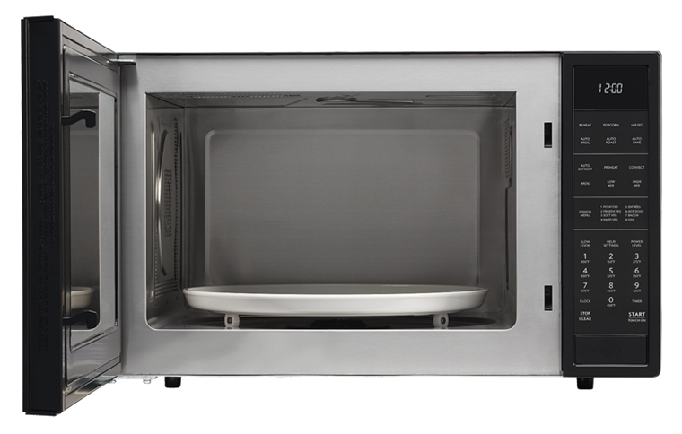 Model: SMC1585BB | Sharp Appliances SHARP CAROUSEL COUNTERTOP CONVECTION + MICROWAVE OVEN 1.5 CU. FT. 900W WITH MATTE BLACK FINISH